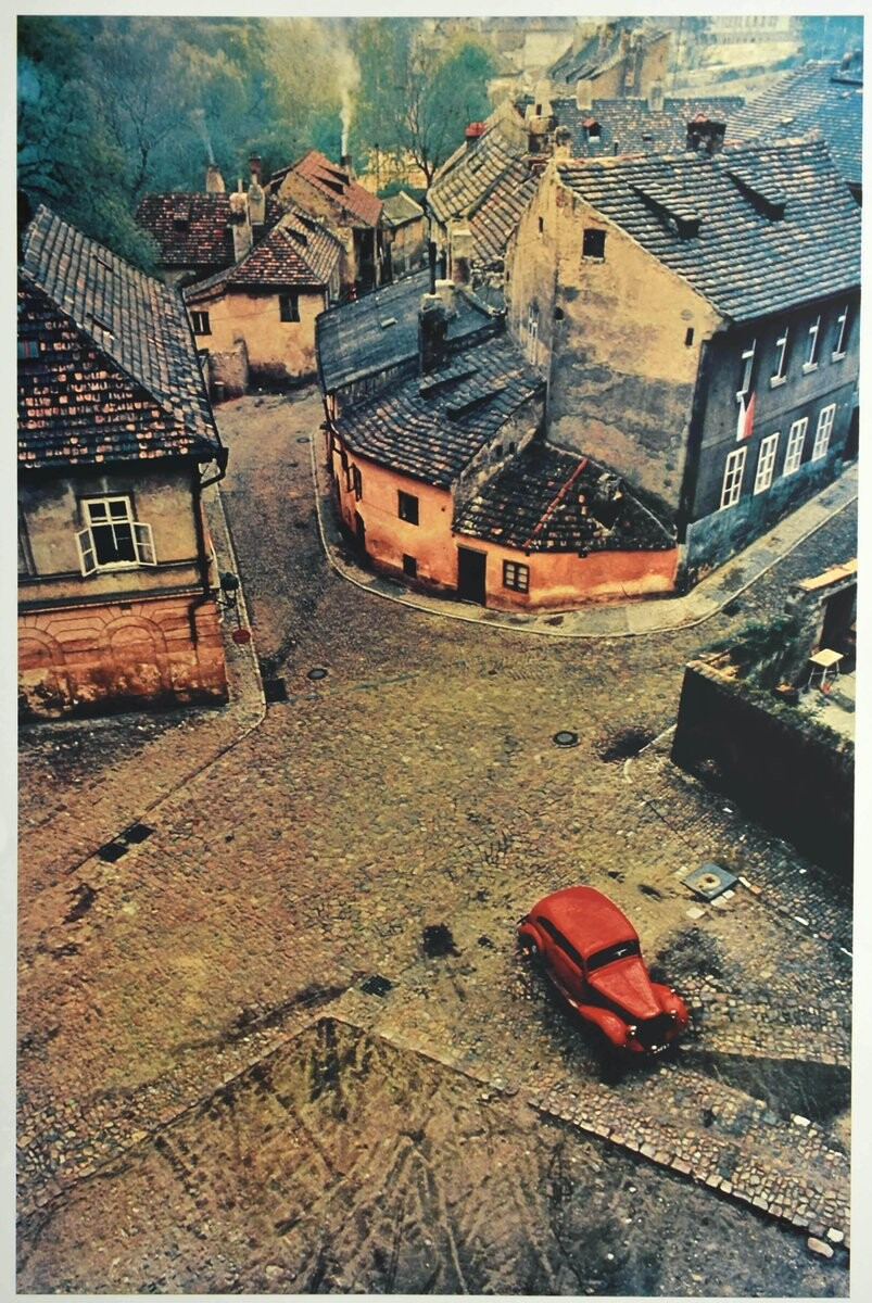 Прага, 1967. Фотограф Франко Фонтана