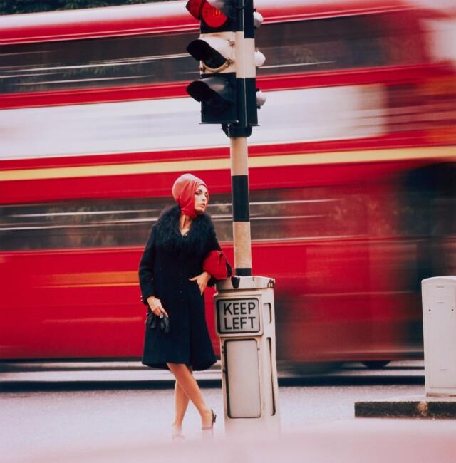 Трафик, 1960-е. Фотограф Норман Паркинсон