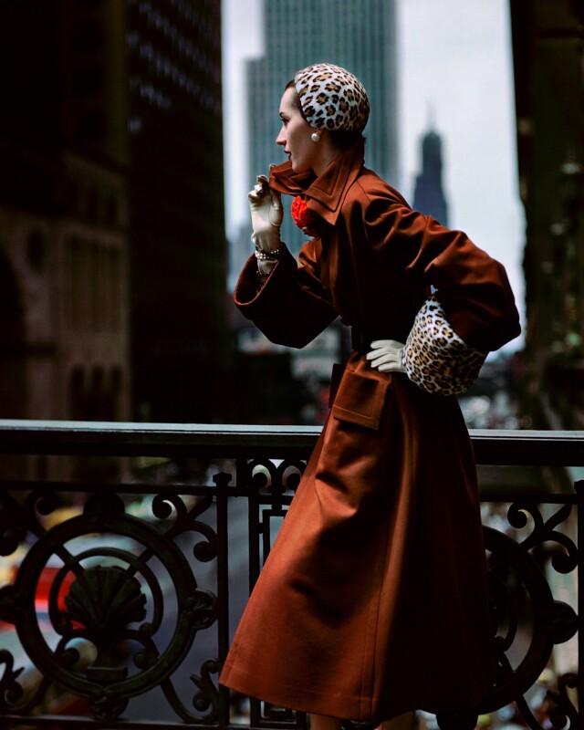Довима, журнал Glamour, Нью-Йорк, 1949. Фотограф Норман Паркинсон