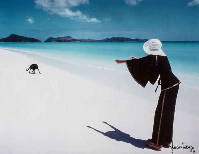 Сейшельские острова, для британского Vogue, 1971. Фотограф Норман Паркинсон