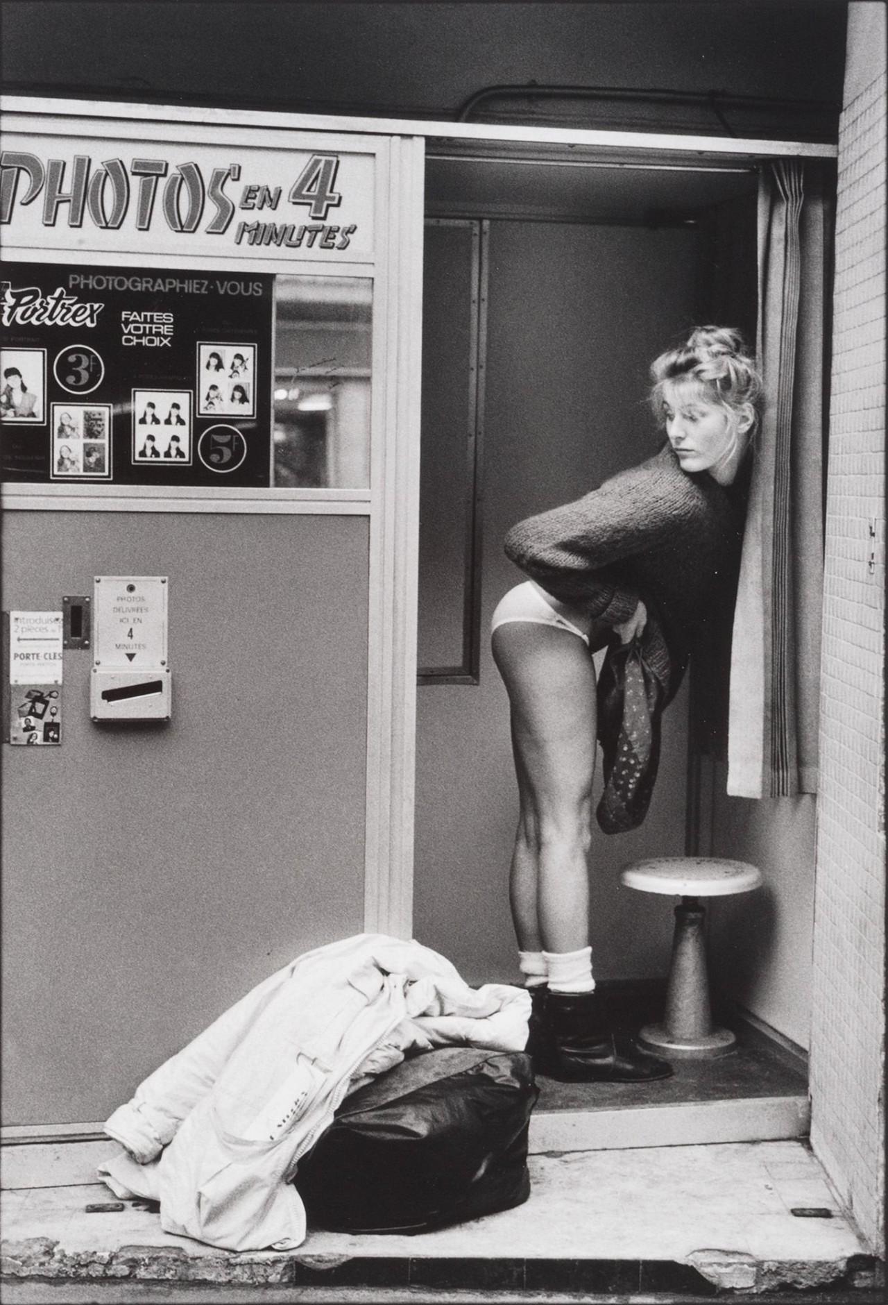 Фотокабина, 1980. Фотограф Жан-Франсуа Жонвиль