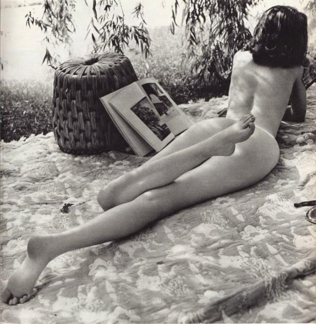 Пикник, 1960-е. Фотограф неизвестен