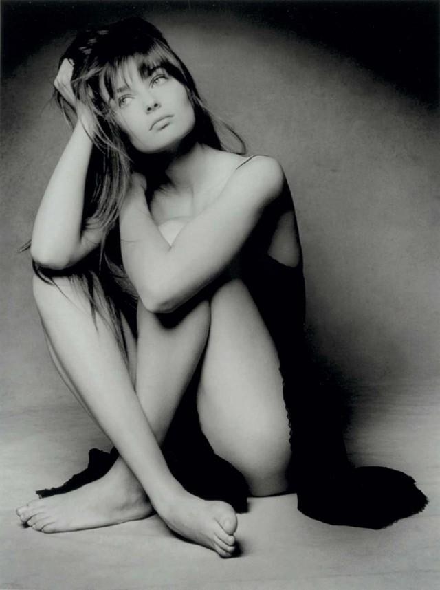 Паулина Поризкова, 1987. Фотограф Патрик Демаршелье