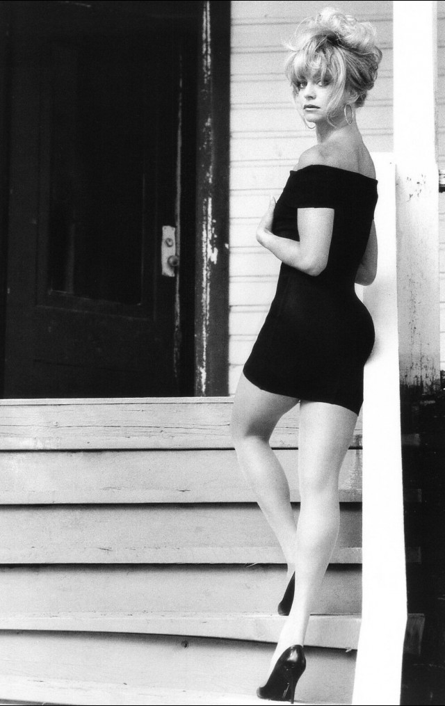 Голди Хоун, 1989. Фотограф Герб Ритц