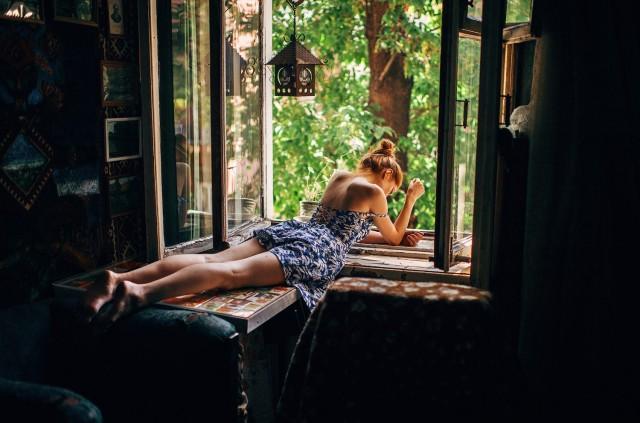 Окно. Фотограф Марат Сафин