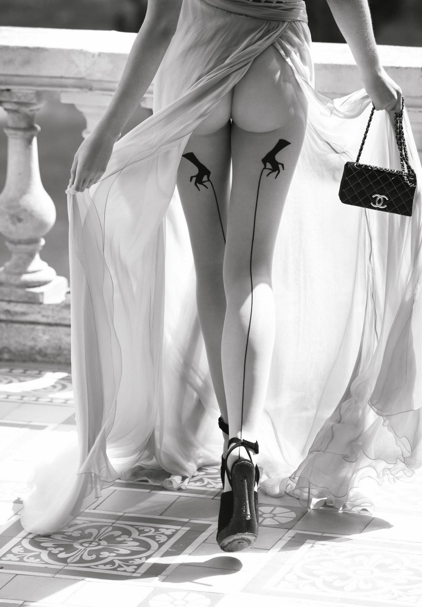 Жасмин для Vogue Germany, 2009. Фотограф Олаф Випперфюрт