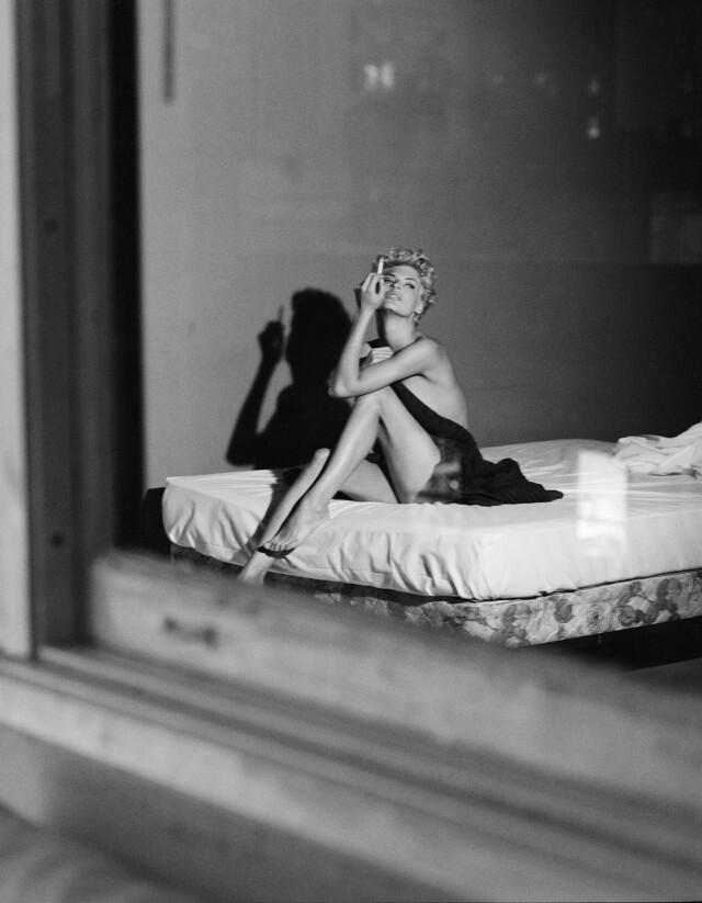 Линда Евангелиста, 1991. Фотограф Стивен Майзель