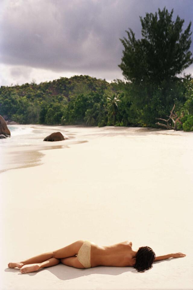 Пляж, 2007. Фотограф Эммануэль Хогель
