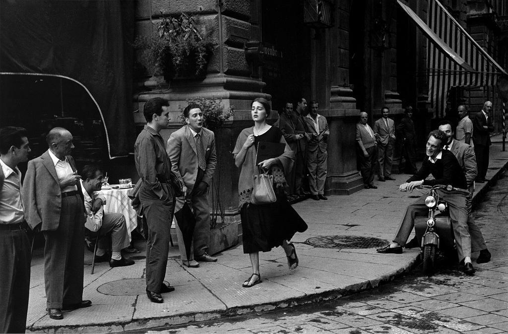 «Американка в Италии», 1951. Фотограф Рут Оркин
