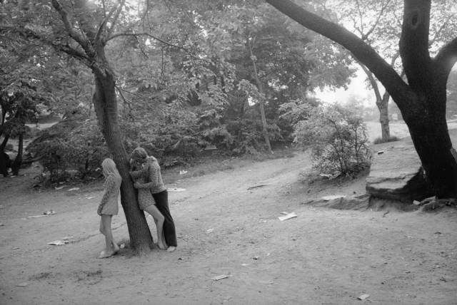 Нью-Йорк, Центральный парк, 1969. Фотограф Тод Пападжордж
