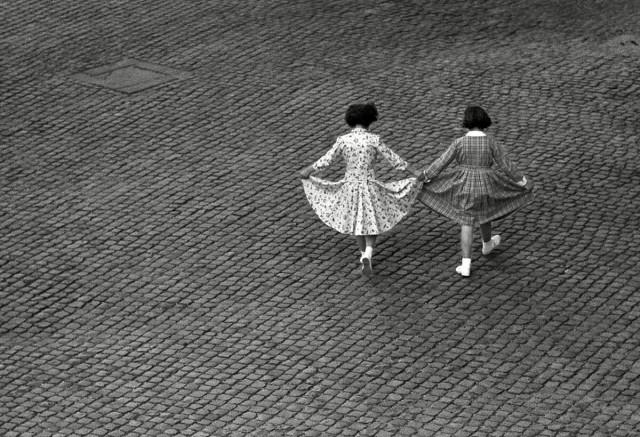 Вид из окна, Трастевере, Рим, 1953. @ Герберт Лист