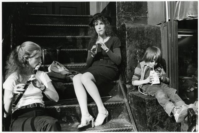 Трио, 1978. Фотограф Пол МакДонах