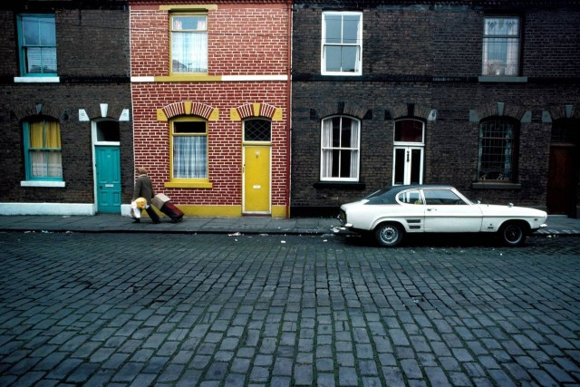 Ford Capri, Манчестер, 1977. Фотограф Джон Балмер