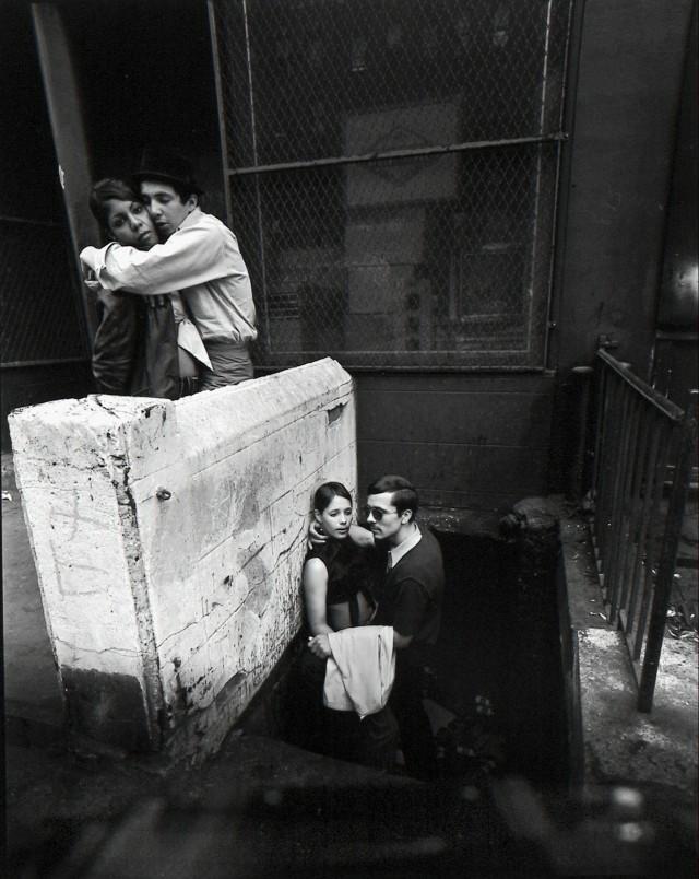 Нью-Йорк, 1960-е. Фотограф Брюс Дэвидсон