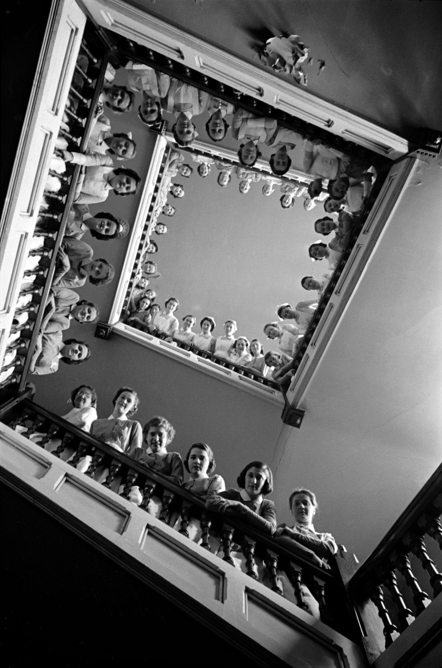 Медсёстры в больнице Рузвельта, 1937. Фотограф Альфред Эйзенштадт