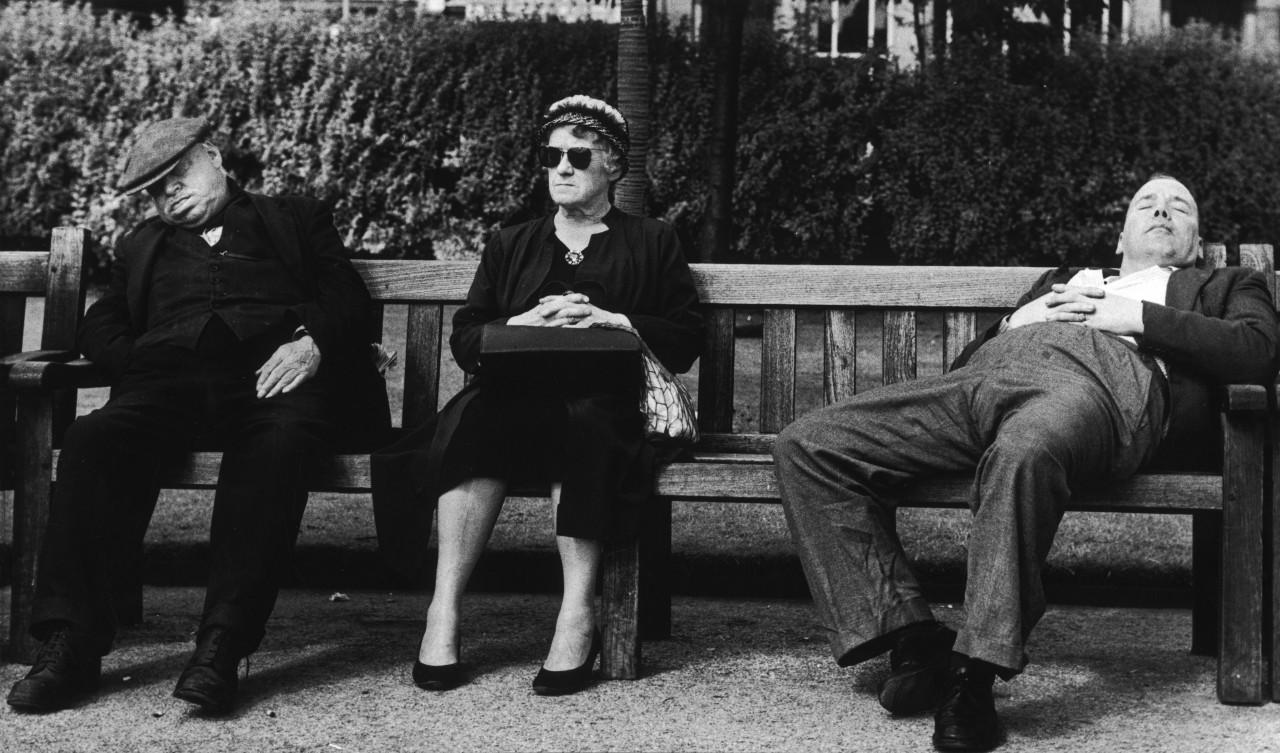 На железнодорожной станции в Манчестере, 1961 год. Фотограф Ширли Бейкер