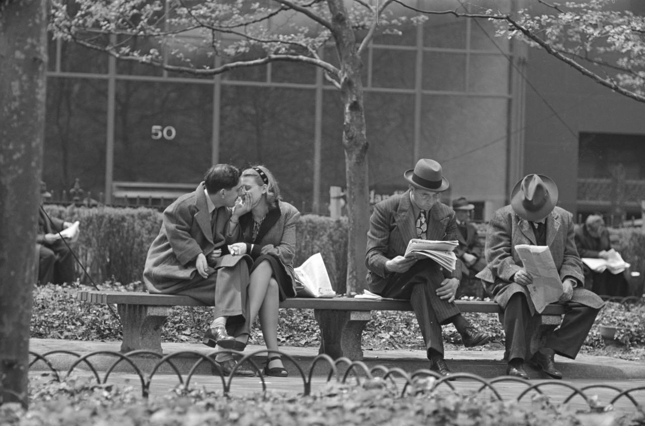 Любовь повсюду, 1946. Фотограф Стэнли Кубрик