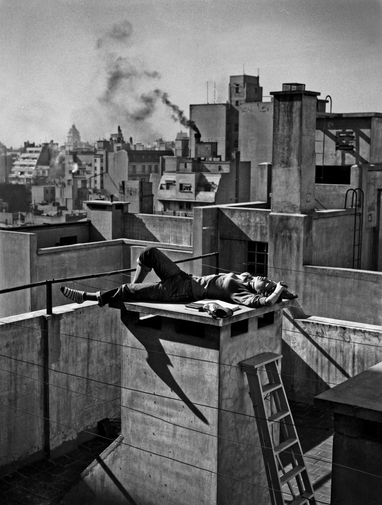 Лето в городе, 1959. Фотограф Аннемари Генрих