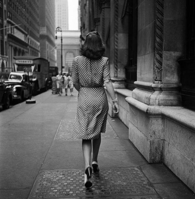Нью-Йорк, 1940-е. Фотограф Стэнли Кубрик
