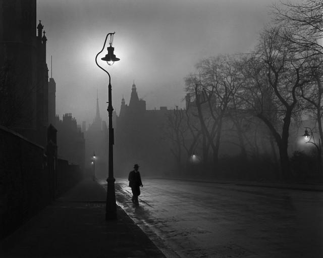 Лондон, 1949. Фотограф Рене Гробли