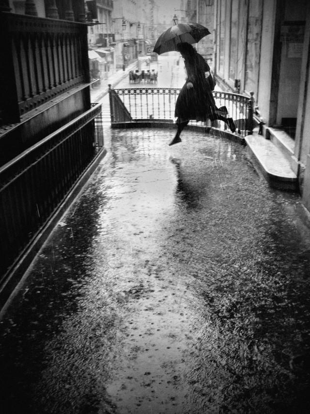 Дождливый день в Лиссабоне. Фотограф Руи Палья