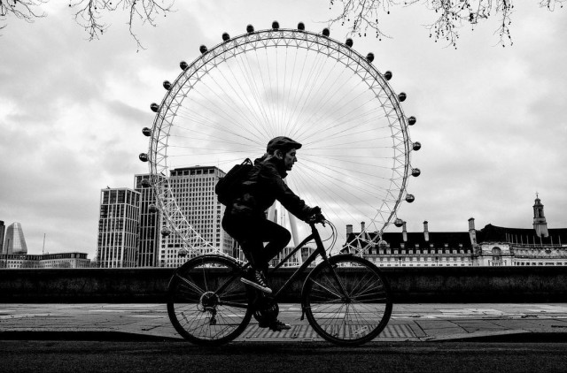 Лондонское колесо. Фотограф Алан Шаллер