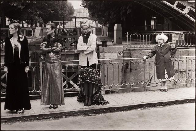 Канал Сен-Мартен, ок. 1978. Фотограф Эллиотт Эрвитт