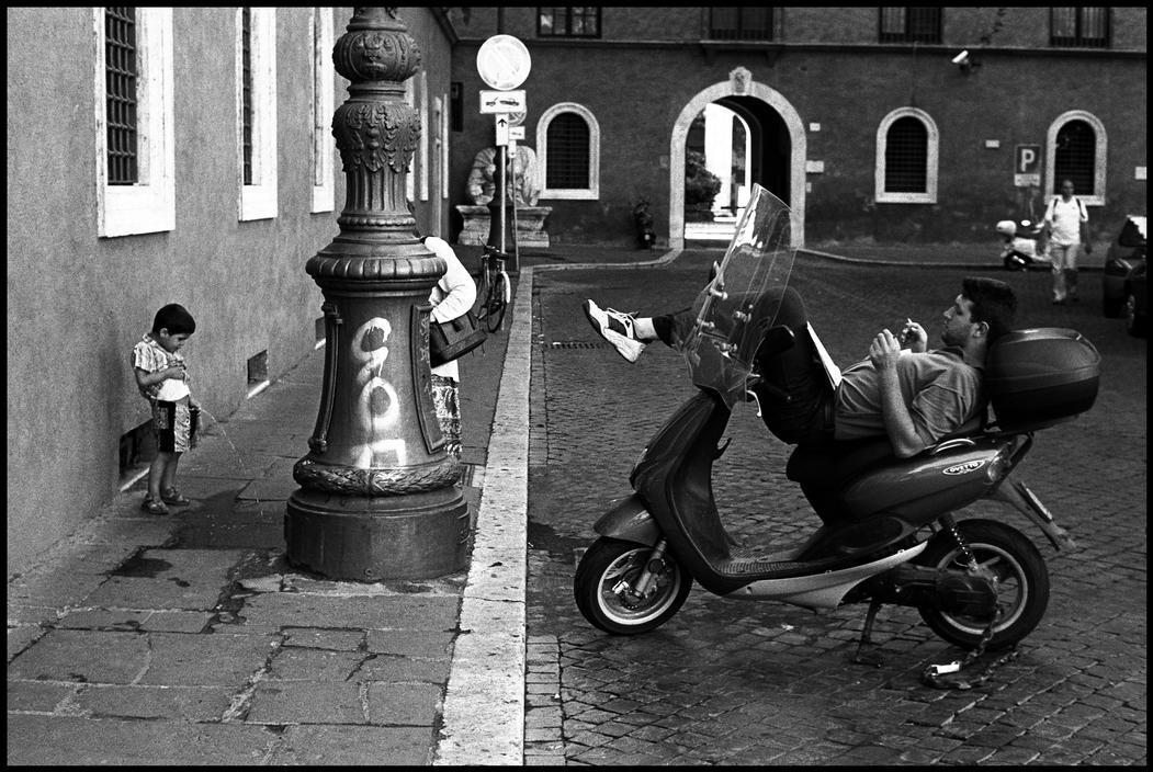 Рим, 2000. Фотограф Леонард Фрид