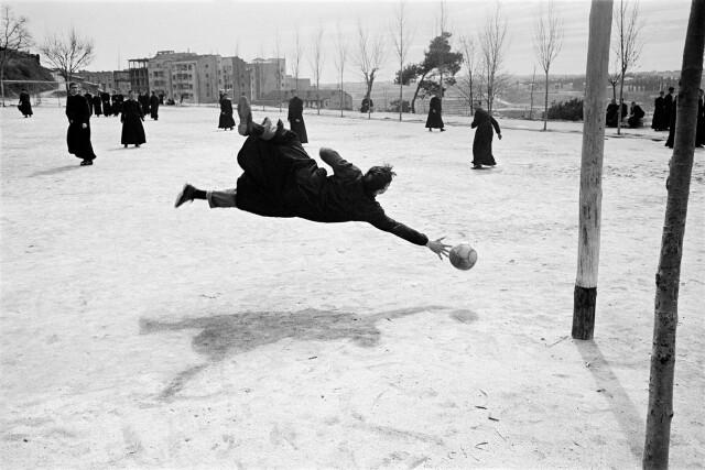 Гол. Мадрид, 1960. Фотограф Рамон Масатс