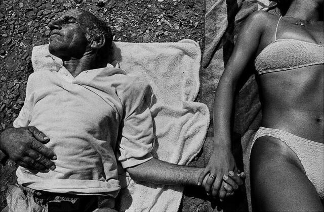 Лерос, Греция, 1994. Фотограф Алекс Майоли (Alex Majoli)