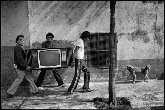 Мехико, 1983. Фотограф Аббас