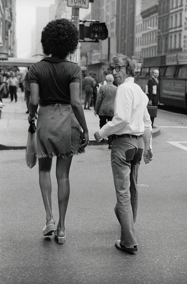 Вуди Аллен и Тамара, Нью-Йорк, 1971. Фотограф Брюс Лоуренс