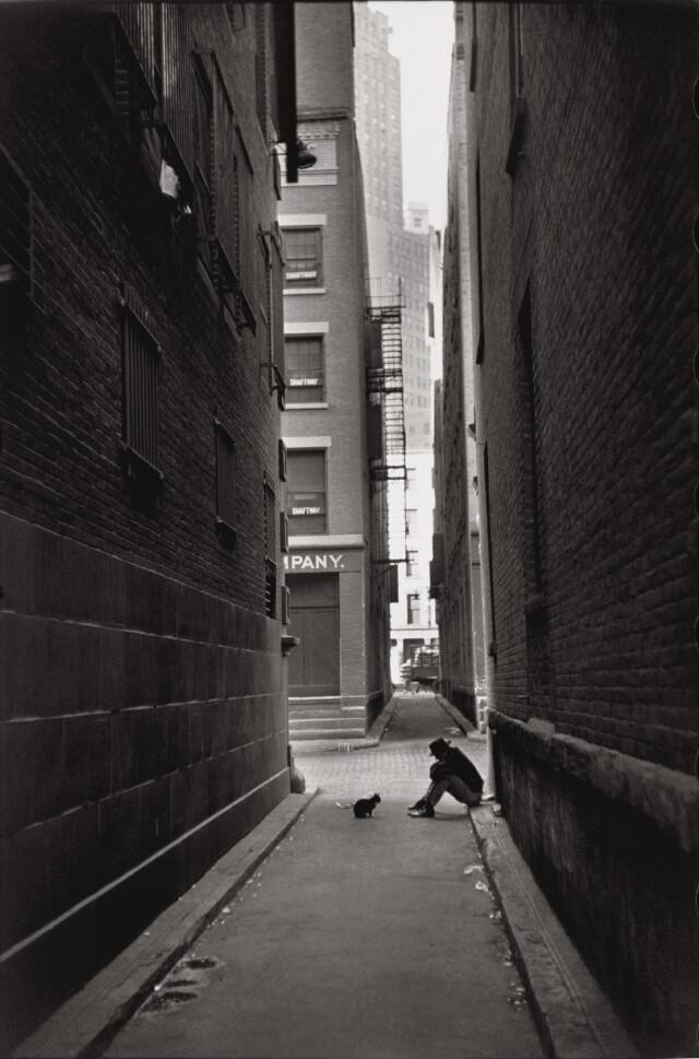 Нью-Йорк, 1947. Фотограф Анри Картье-Брессон