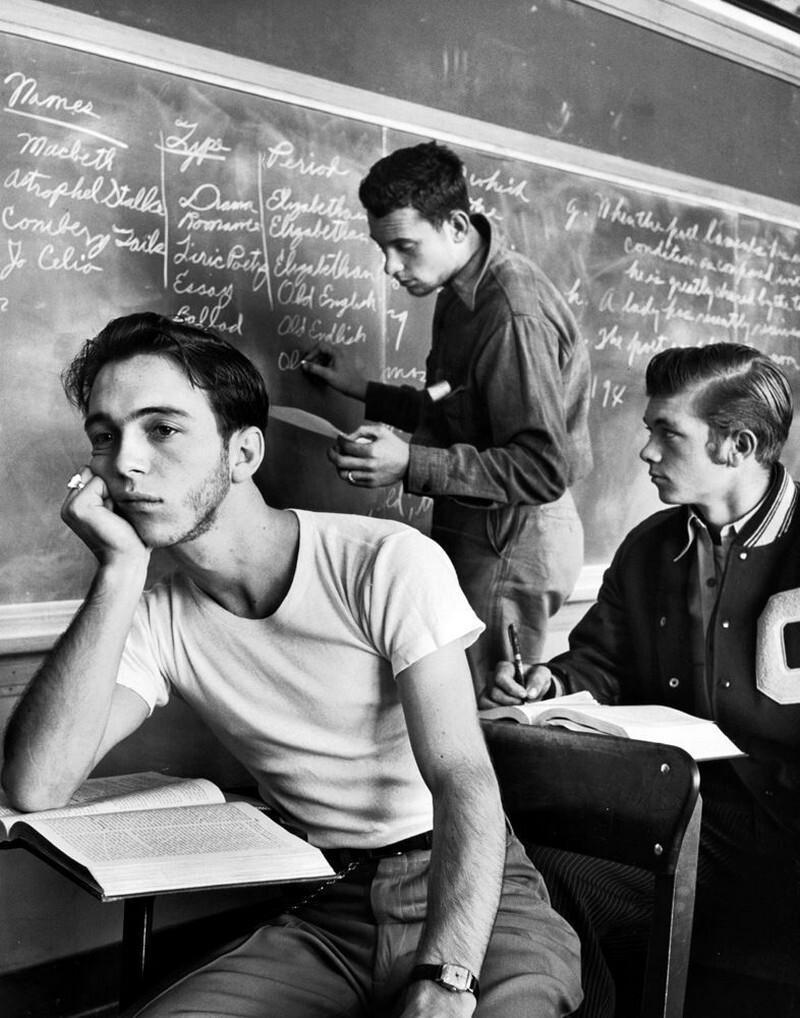 Старшая школа, Оклахома-Сити, 1948. Фотограф Альфред Эйзенштадт