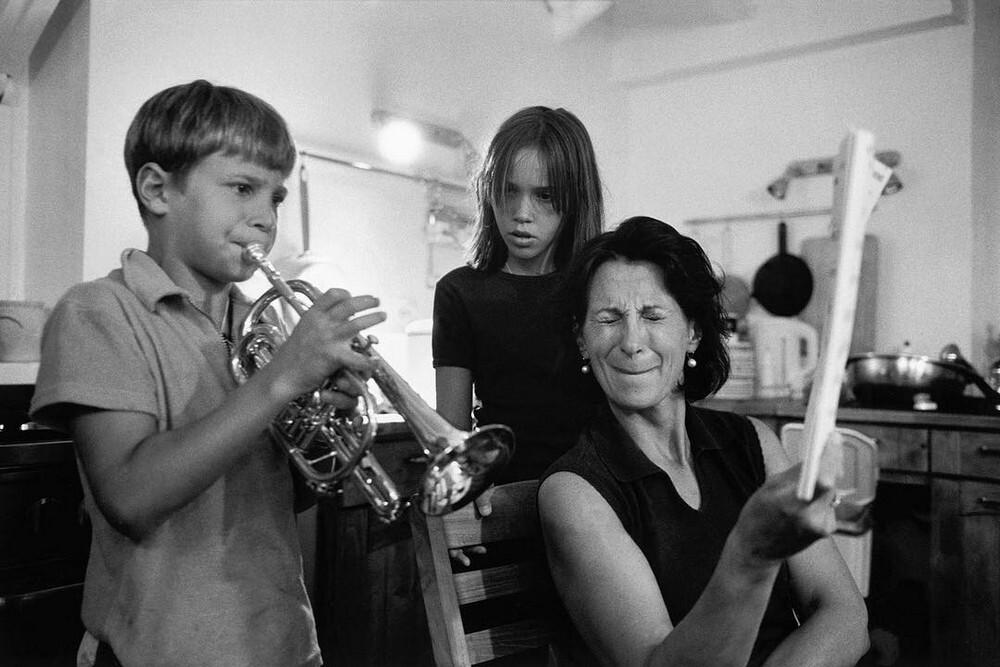 Музицирование, 1999. Фотограф Ричард Калвар