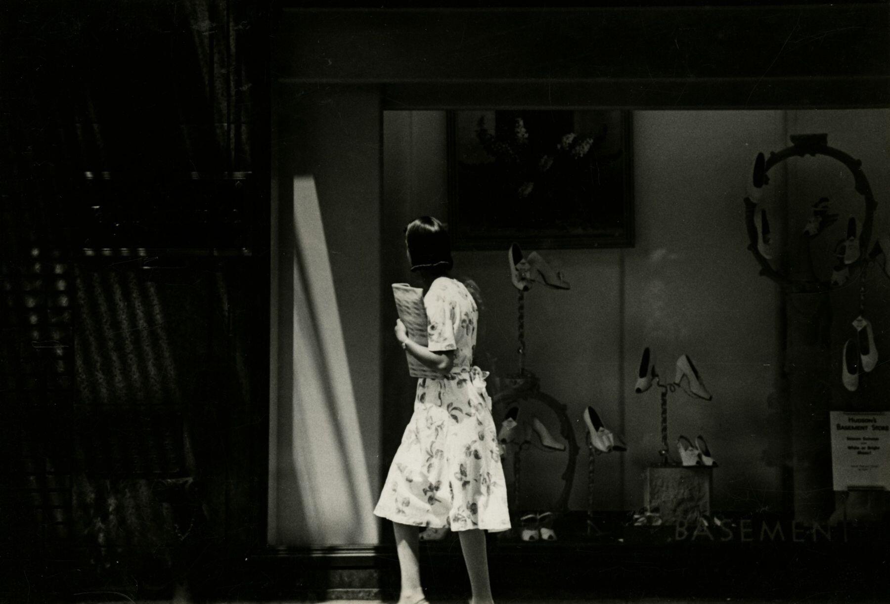Детройт, 1943. Фотограф Гарри Каллахан