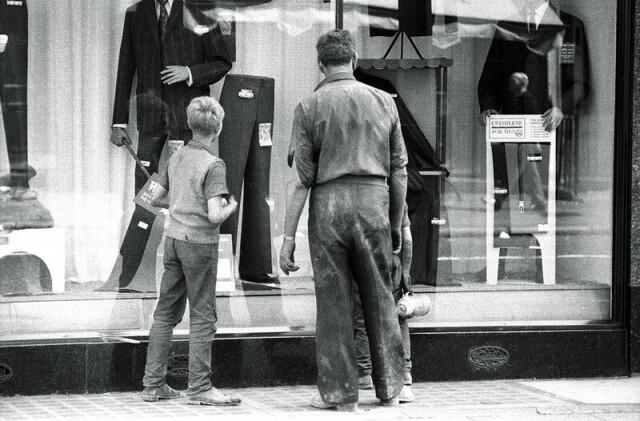 Витрина магазина, Лондон, 1971. Фотограф Жан-Пьер Ру