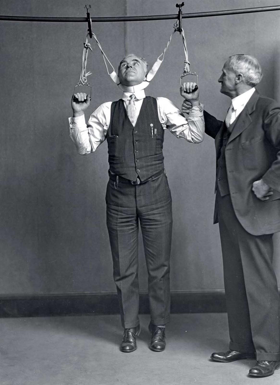 Устройство, якобы увеличивающее рост на 5-15 см, 1931 год