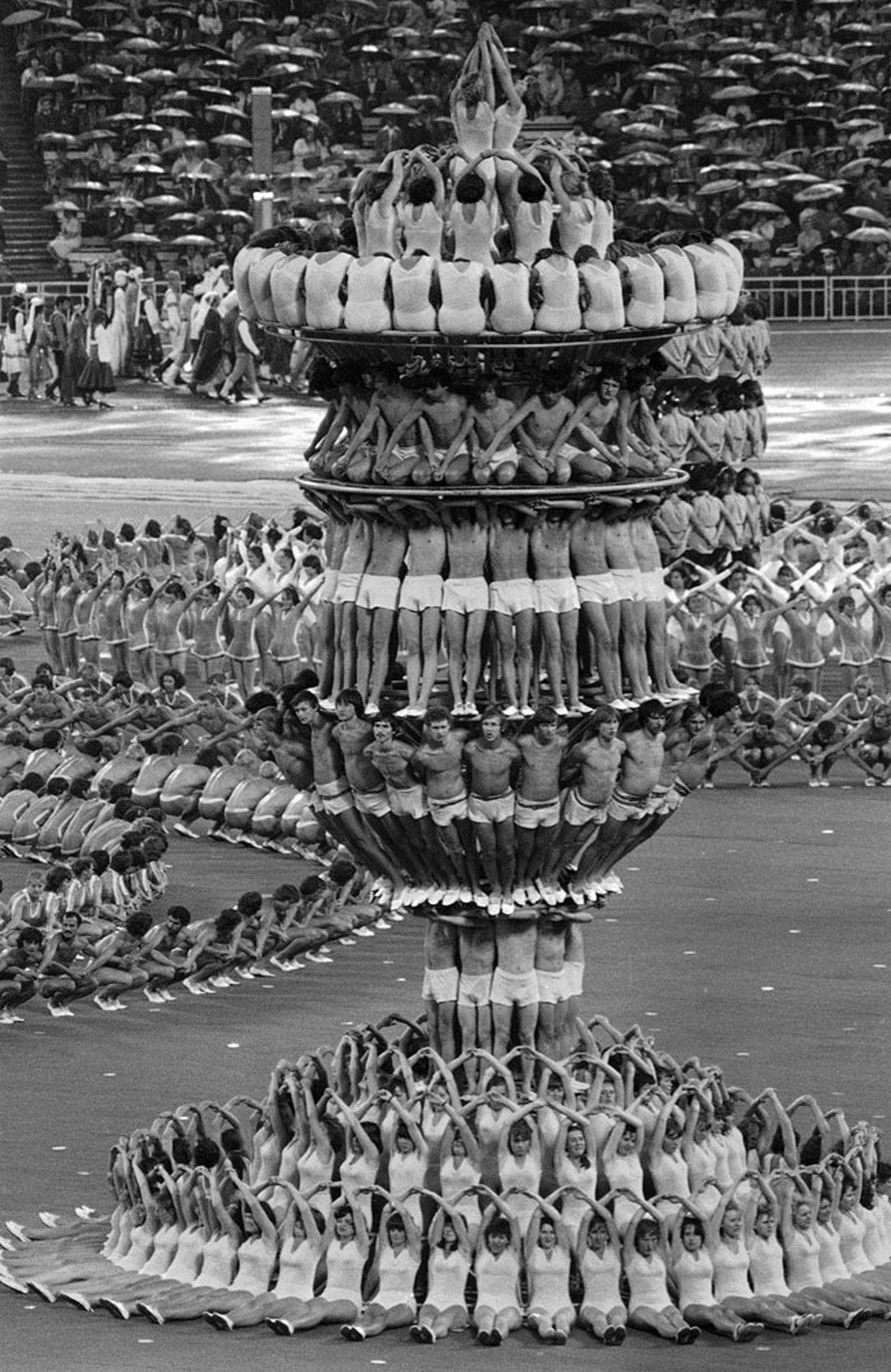 Церемония открытия Олимпийских игр, Москва, 1980
