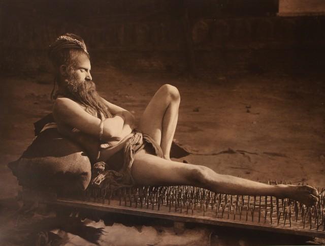Факир, ок. 1910. Фотограф Герберт Понтинг