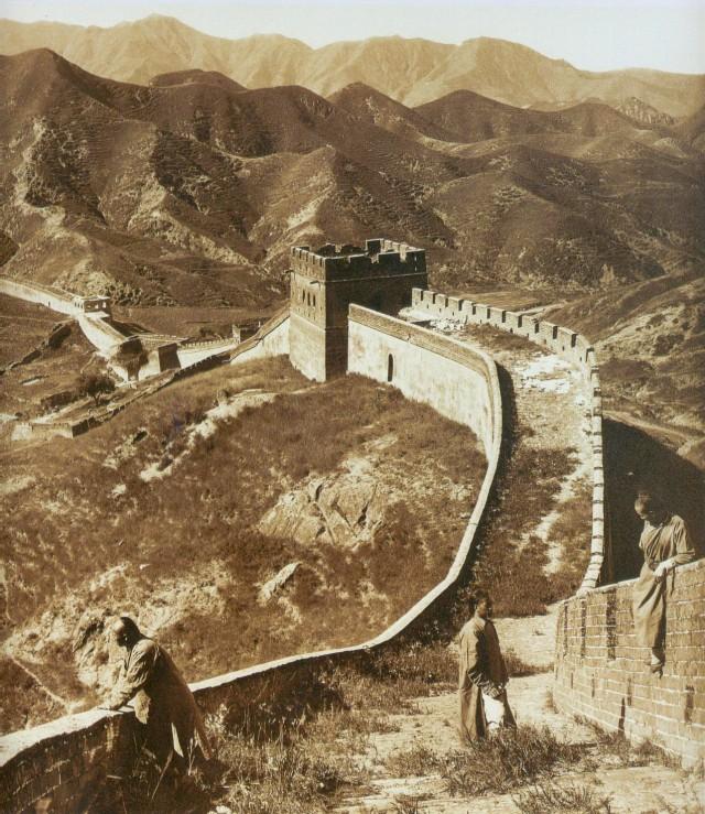 Великая Китайская стена, 1907. Фотограф Герберт Понтинг