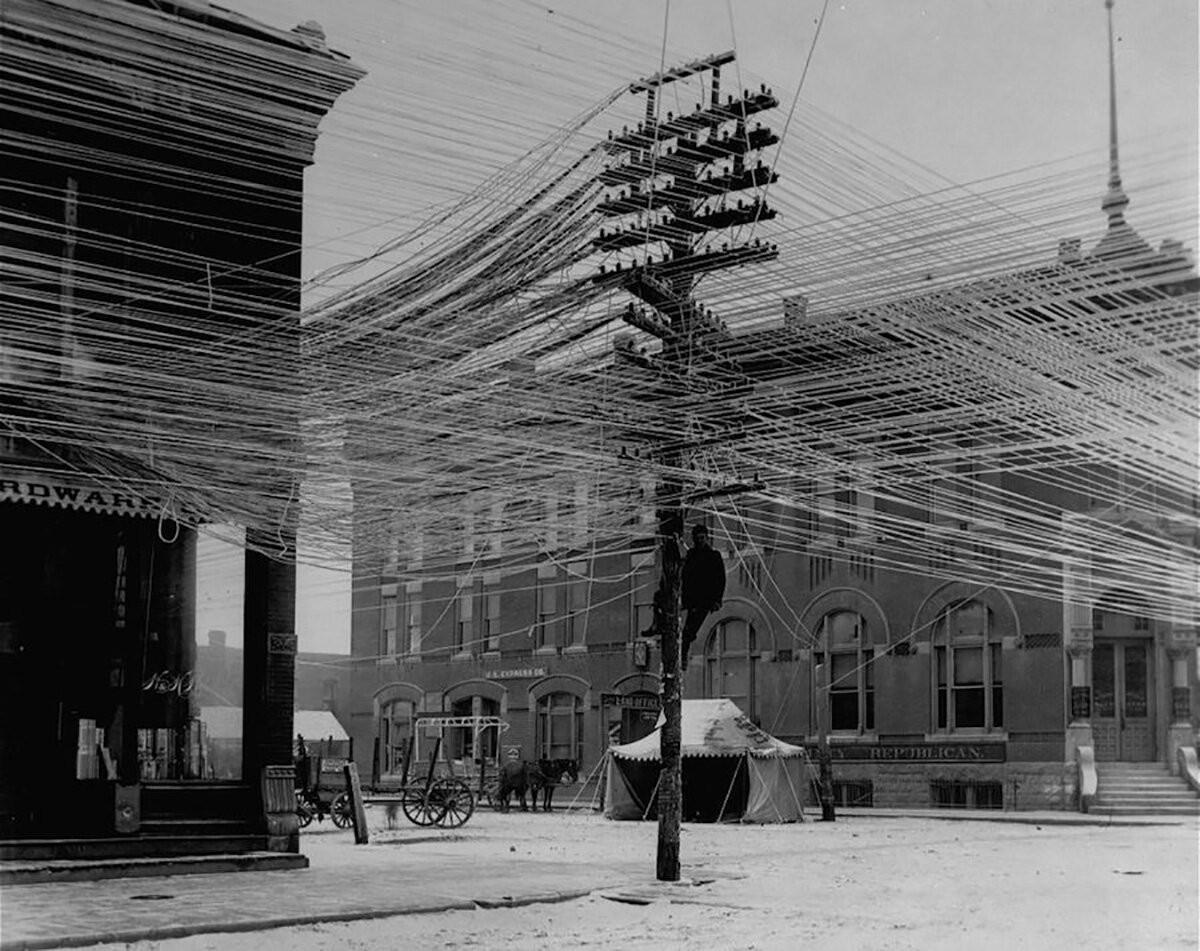Провода. Пратт, Канзас, 1911