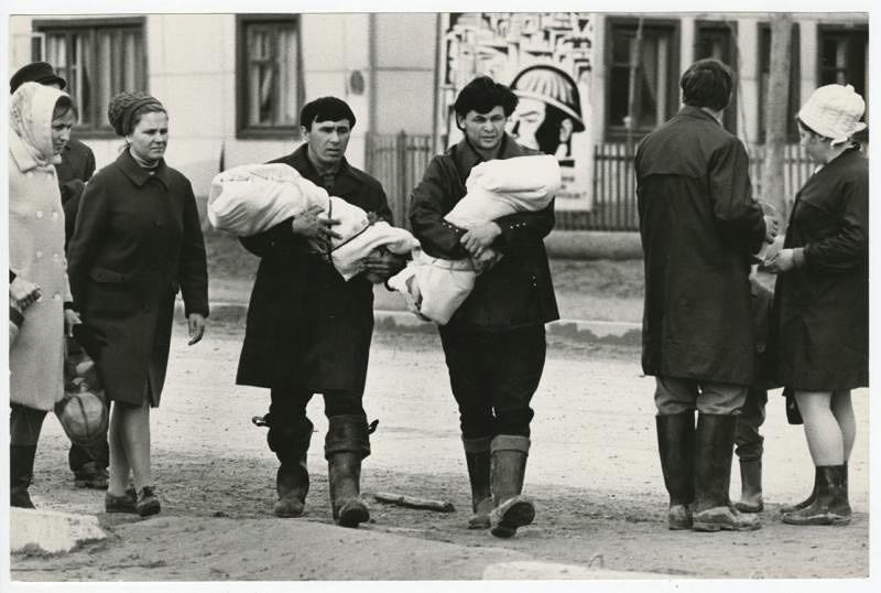 Папаши, Тюменская область, 1968. Фотограф Всеволод Тарасевич