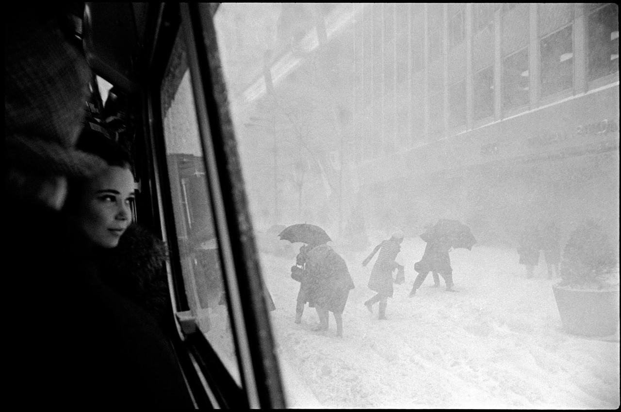 Метель, Нью-Йорк, 1967. Фотограф Эрих Хартманн