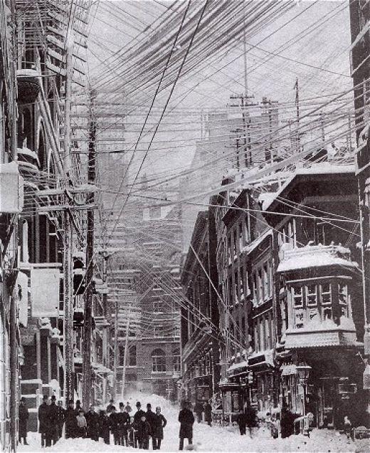 Великая метель 1888 года в Нью-Йорке