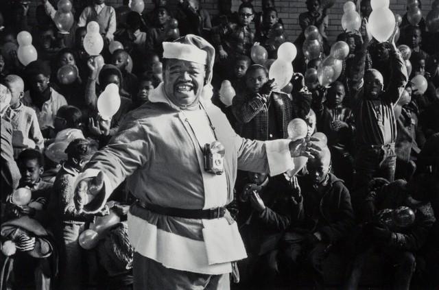 Рождество в Гарлеме, Нью-Йорк, 1963. Фотограф Леонард Фрид