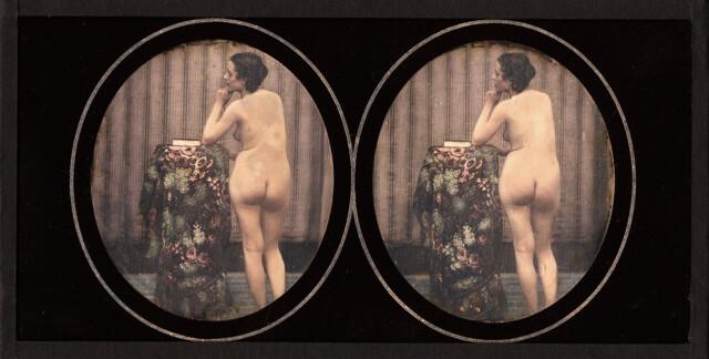 Задумчивая женщина, 1850-е годы