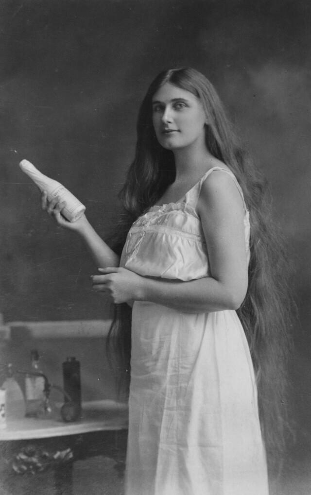 Реклама шампуня, 1920-е