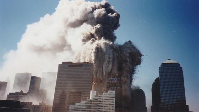 Ранее не публиковавшаяся фотография трагедии 11 сентября 2001 года из личного альбома. Автор hanfanson