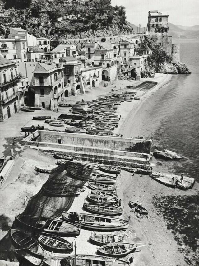 Побережье Амальфи, Италия, 1966. Фотограф Альфред Эйзенштадт